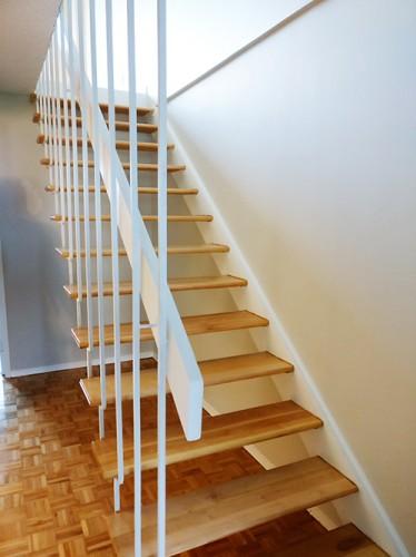 faire le choix d 39 un escalier droit d 39 int rieur. Black Bedroom Furniture Sets. Home Design Ideas