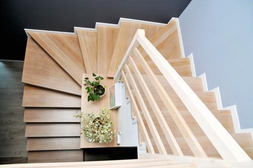 faire le choix d 39 un escalier 2 quarts tournant. Black Bedroom Furniture Sets. Home Design Ideas