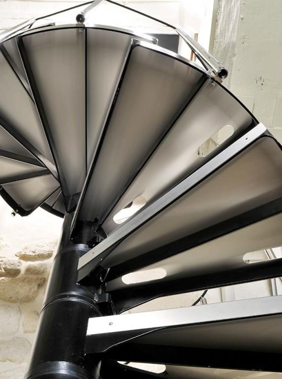 escalier helicoidal gironde