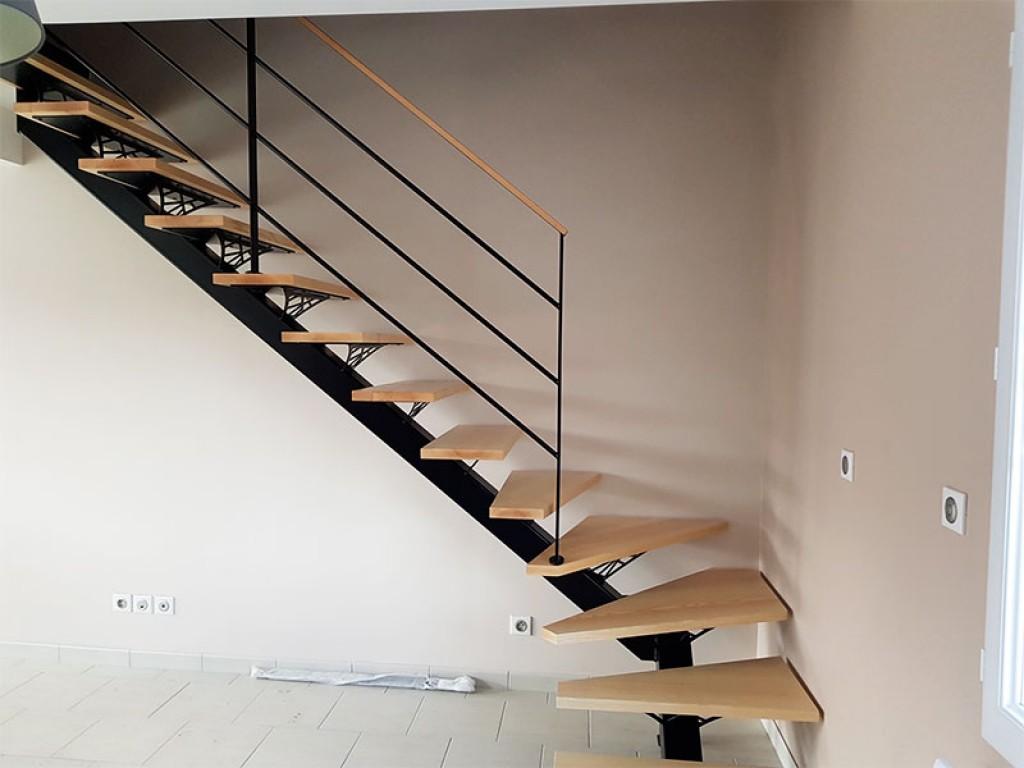 Fabricant D Escalier Bois conception escalier bois, droit ou quart tournant
